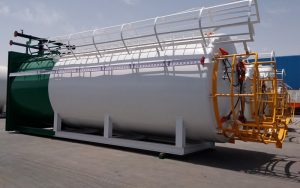 Storage Tank 1300 BBL Painting